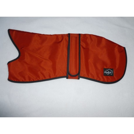 Woodlands Whippet Coat Waterproof Indian Red