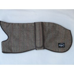 WOODLAND TWEED WHIPPET COAT