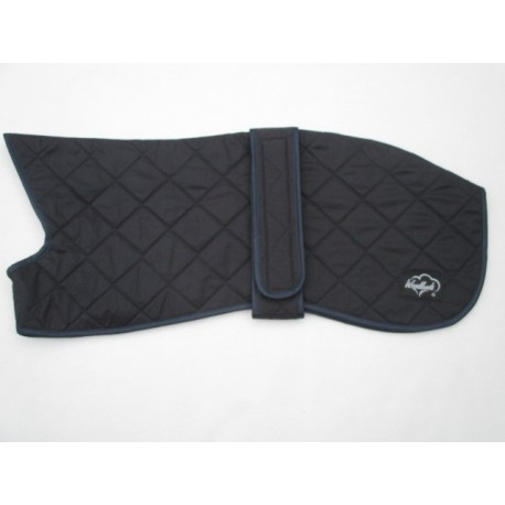 WHIPPET QUILTED WAX NAVY BLUE