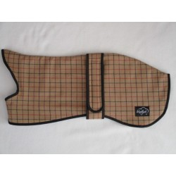 Woodlands Wool Camel Checked Whippet Coat