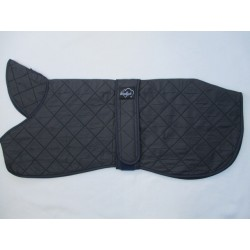 WOODLANDS GREYHOUND LIGHTWEIGHT NAVY QUILTED FLEECE LINED COAT