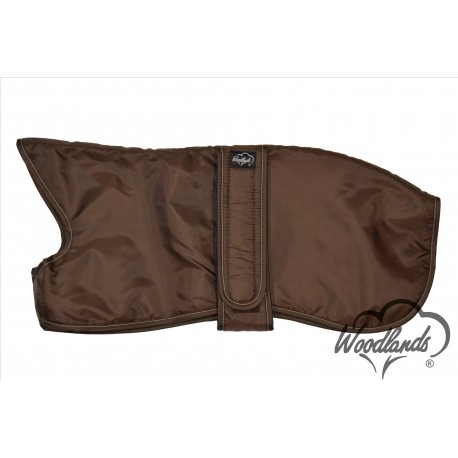 Brown Whippet coat